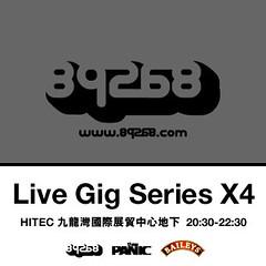 89268 Live Gig Series X4