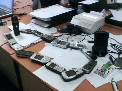 Orgía de móviles