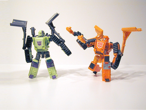 Bonecrusher and Wedge face off!