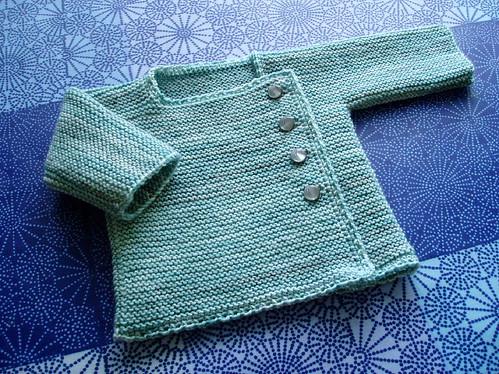 Garter Stitch Wrap Top