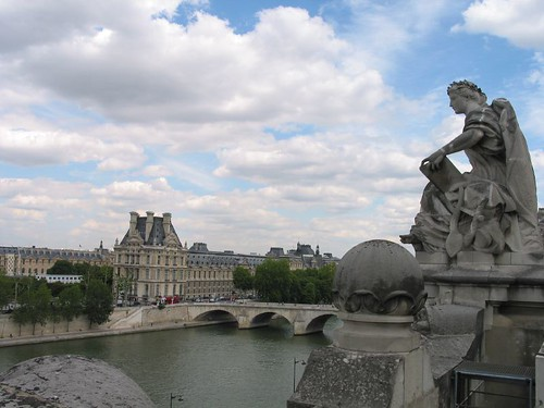 Roof top of Musee d'Orsay
