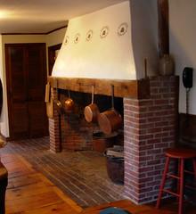 1774 Kimball house beehive oven