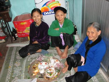 Luu Wedding Grand mothers