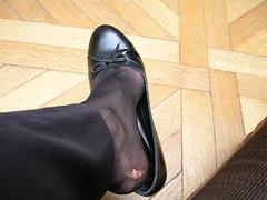 Ömma fötter på Louvren