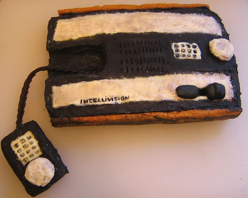 intellivision cake!  (not completely finished)