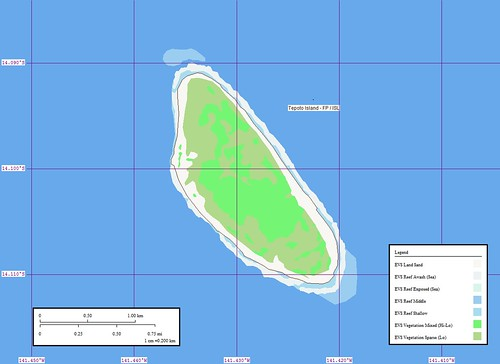 Tepoto Island FP - Map