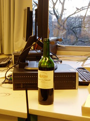 Desk of an Alcoholic