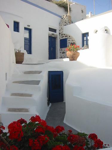 Beautiful Santorini scene