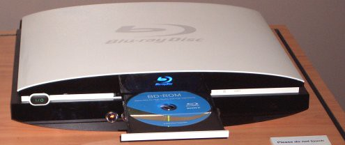 sony Blu-ray prototype