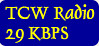 Listen to TCW Radio with a slow connection.