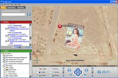 Maxim Cover in Google Earth