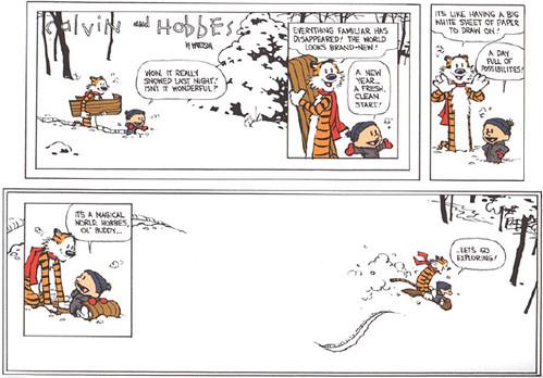Huling Calvin and Hobbes