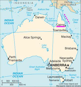澳洲《凱恩斯》Cairns 是去大堡礁的大門