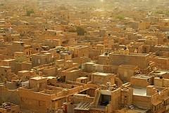 Golden City, Jaisalmer, Rajasthan, India Captured April 14, 2006.