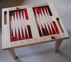 Backgammon Coffee Table