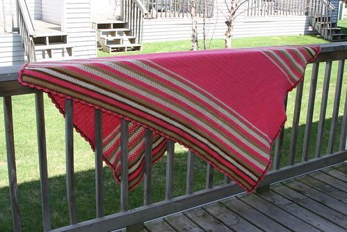 my pink blanket