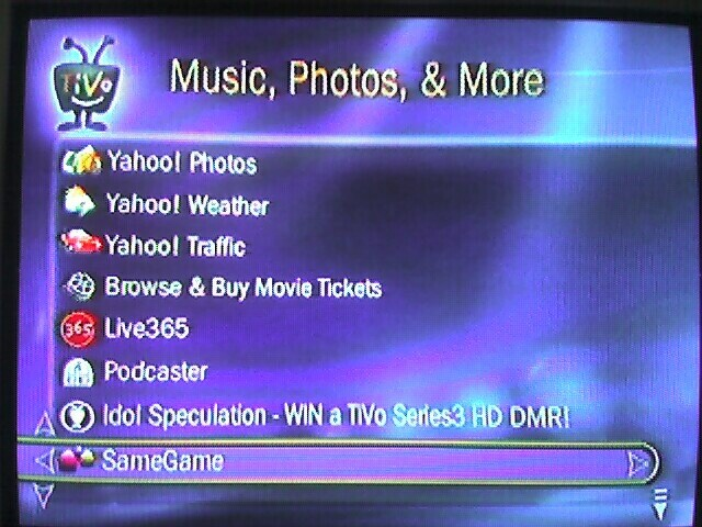 Yahoo! Invaded my TiVo