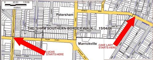 southern border walk