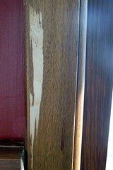 more wood removed from moulding