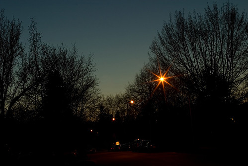 Spring evening again