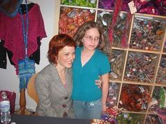 Principessa and Vickie Howell