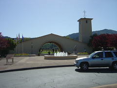 Robert Mondavi Winery - Entry