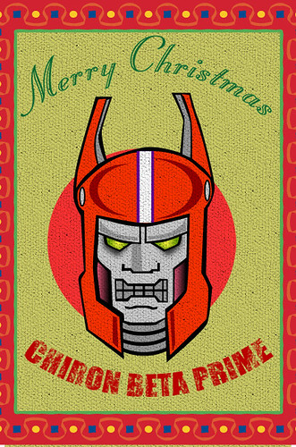 Merry Christmas from Chiron Beta Prime