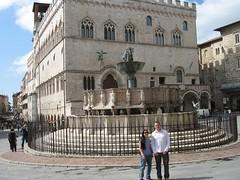 Fontana Maggiore and the Palazzo dei Priori