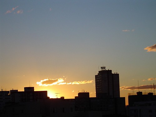 Wonderful sunset from my window