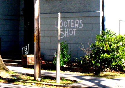 Looters Shot_New Orleans