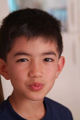 son's enchanting expression