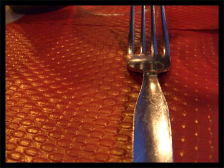 Ne jamais sous-estimer le pouvoir d'une fourchette ...