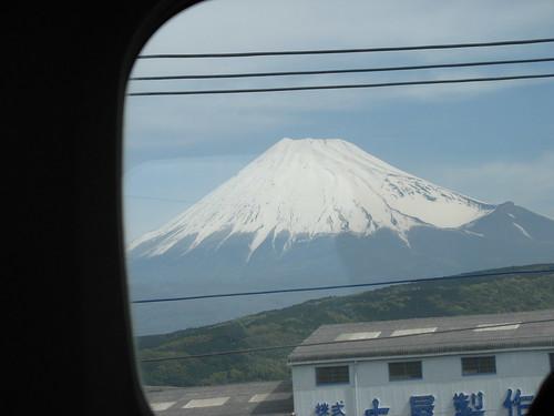 Shinkansen - Pogled na Mt. Fuji