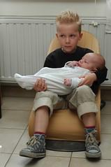 Kyllian & z'n zusje