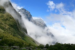 Mt Christina mist photo by go wild - NZ outside