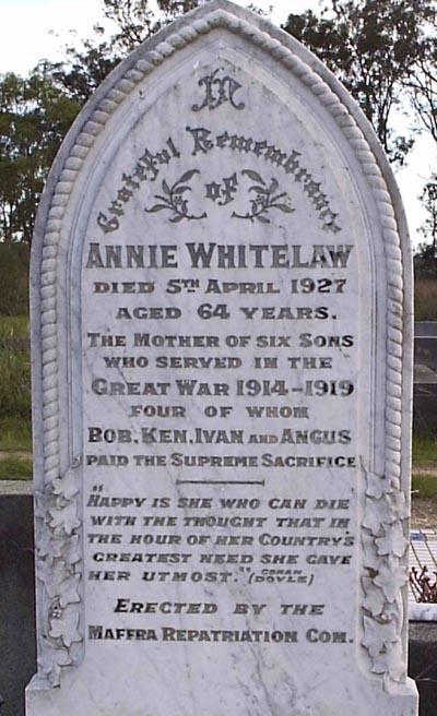 Annie Whitelaw