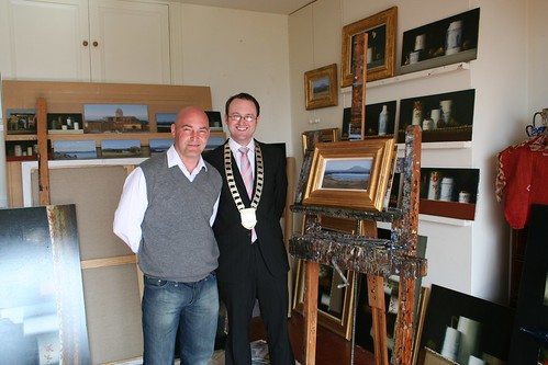 Cllr Damien Blake in Martin Mooney's Studio
