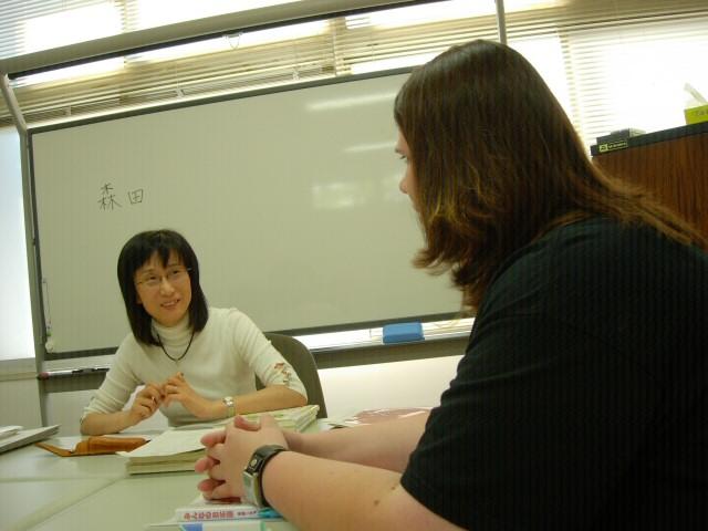 Morita-sensei and Connie