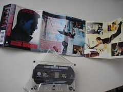 Mission: Impossible Soundtrack Cassette