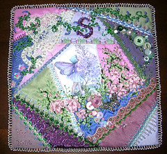 Sophia's block - beaded