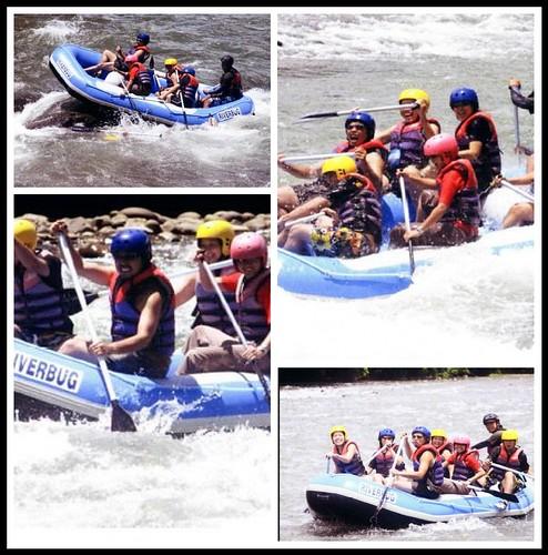 White Water Rafting In Sabah