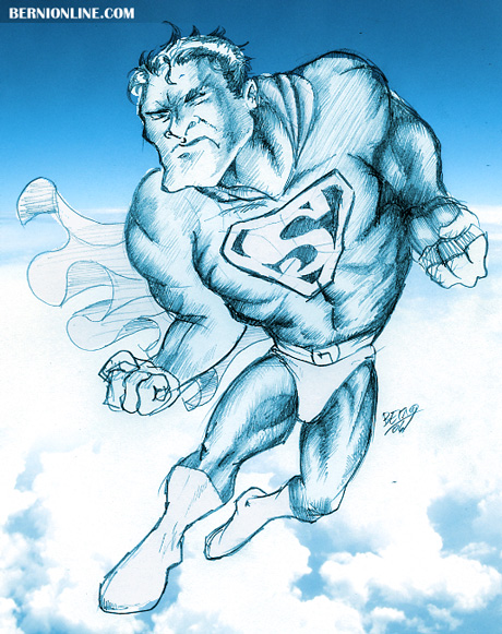 Superman by Berni