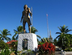 Statue of Lapu-Lapu in Mactan Shrine