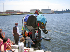 Bumpo the Elephant gets a tow.