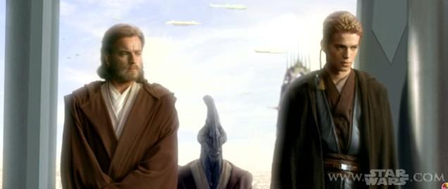 Anakin and ObiWan