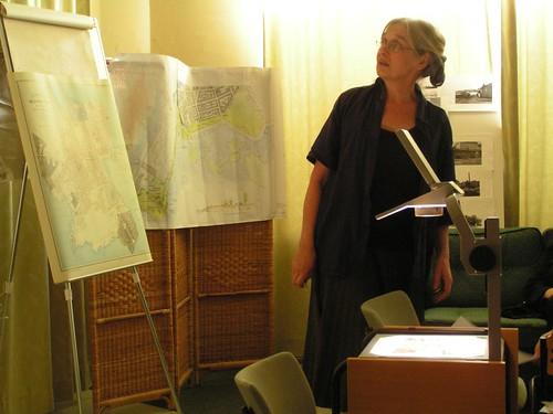 Anjan esitelmä Munkkisaaren historiasta