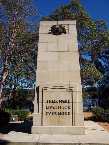 War Memorial Park Mann Street Gosford