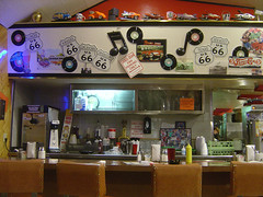Inside Route 66 Diner I