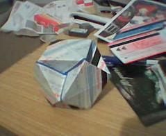 cityrail ticket cubohemioctahedron