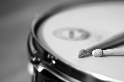 photo of snare drum